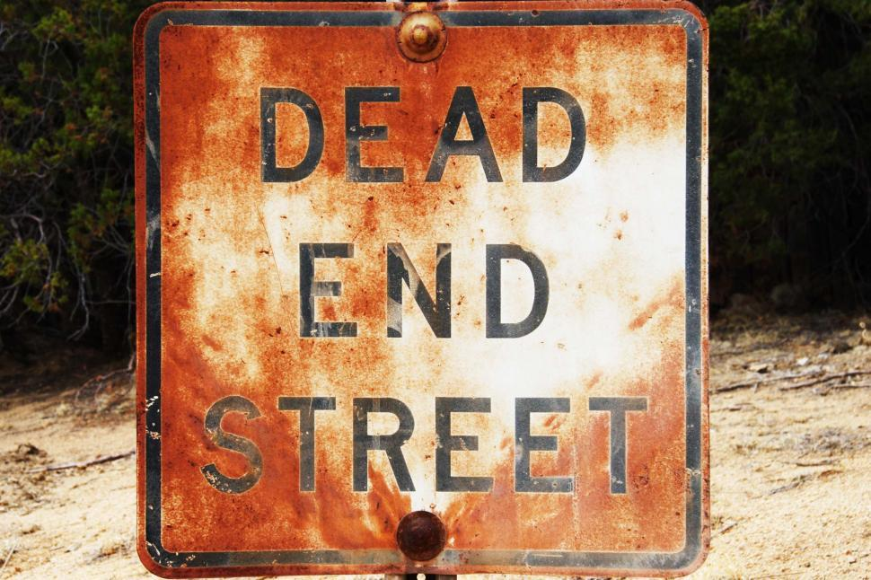 Download Free Stock HD Photo of Dead End sign Online
