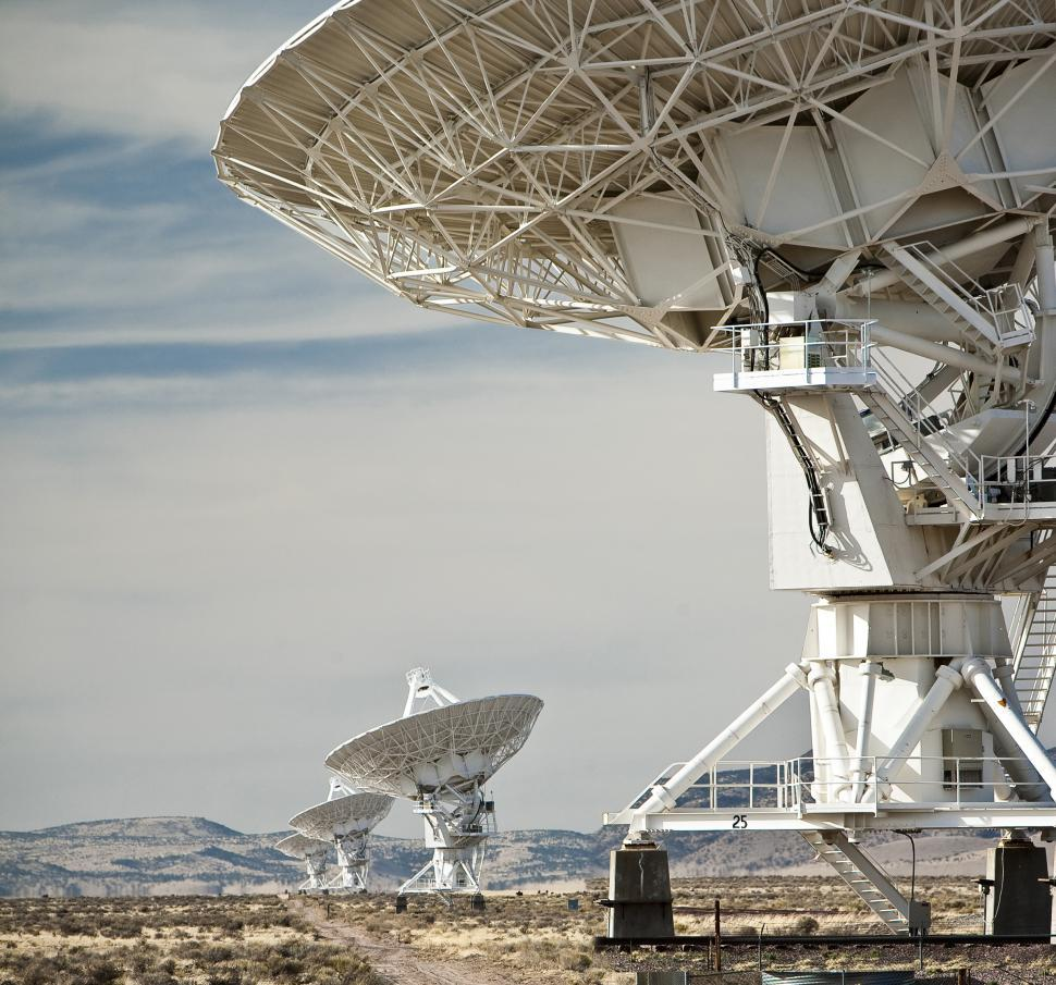 Free image of National Radio Astronomy Observatory - Very Large Array near Socorro, NM