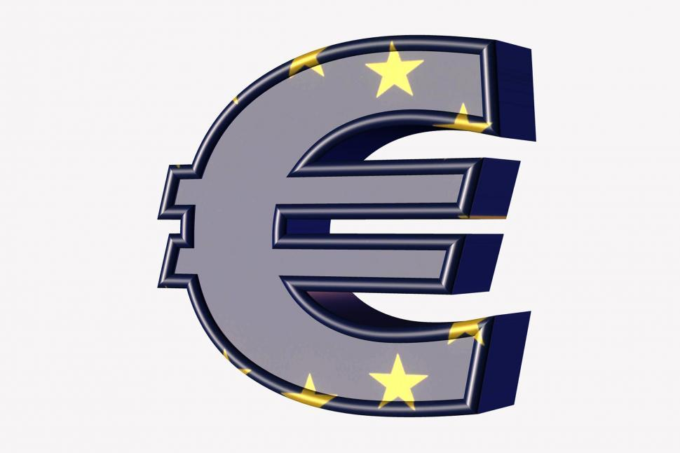 Download Free Stock HD Photo of 3-d Euro Sign Online
