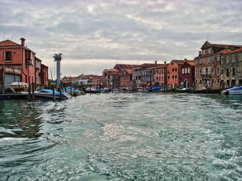 Download Free Stock HD Photo of Venice Boat Ride Online