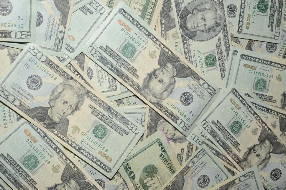 Download Free Stock HD Photo of 20 dollar bank bills  Online