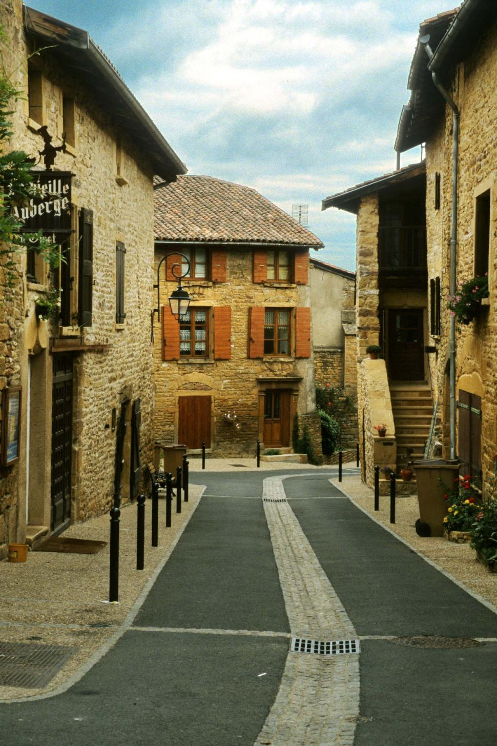 Download Free Stock HD Photo of Streets of a French Village Online