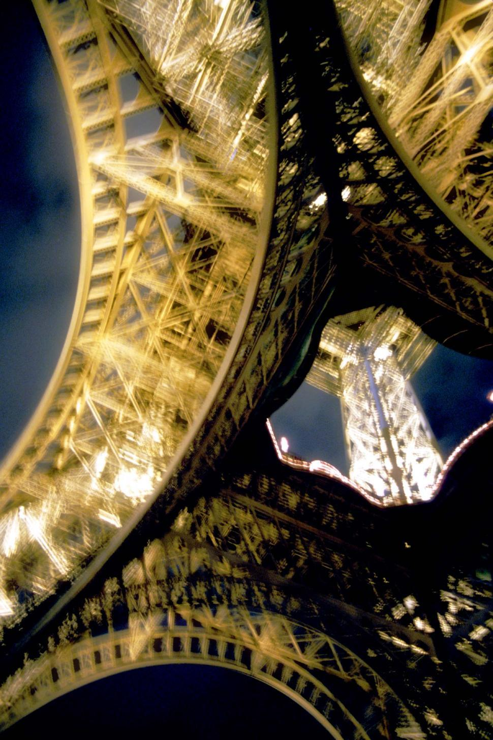 Download Free Stock HD Photo of Eiffel Tower from below Online