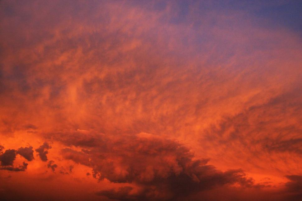 Download Free Stock HD Photo of Red sky Online