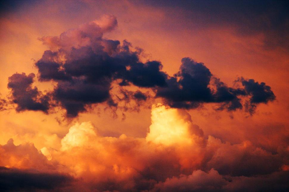 Download Free Stock HD Photo of Dramatic colorful sky Online