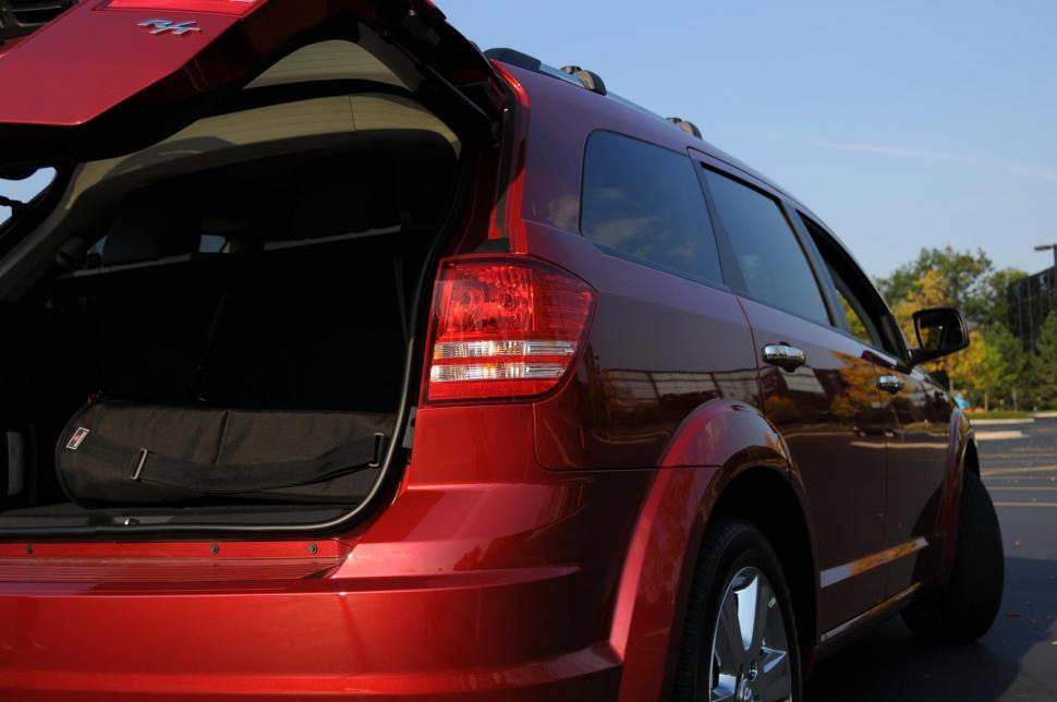 Download Free Stock HD Photo of Red Dodge Journey Online