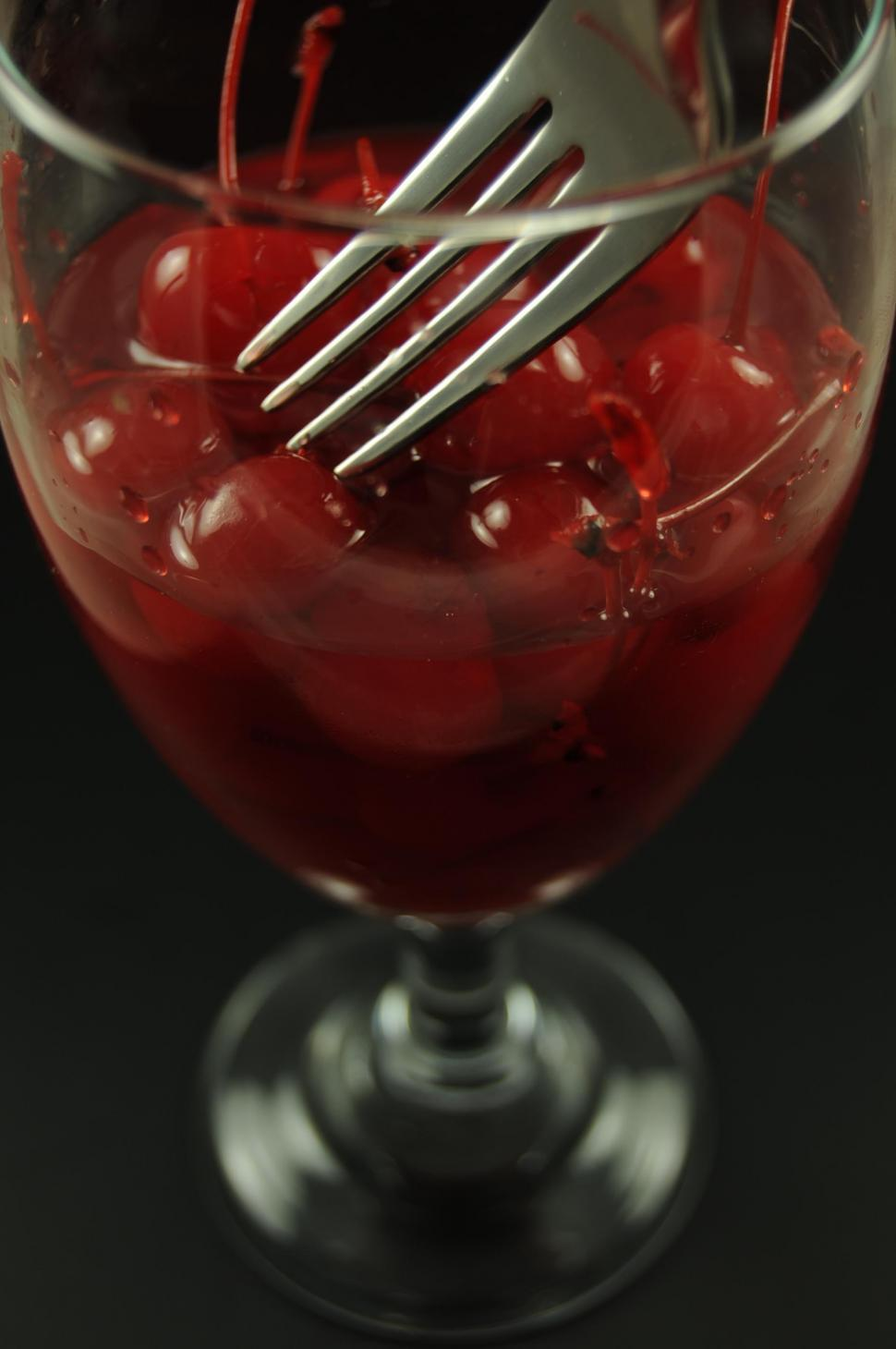 Download Free Stock HD Photo of Maraschino cherries Online
