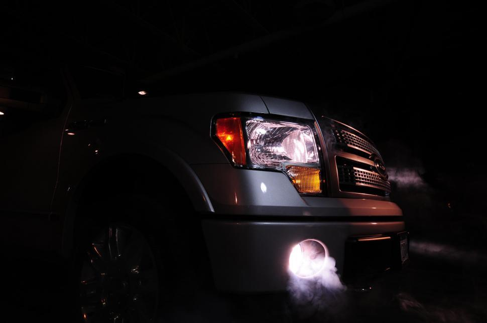 Download Free Stock HD Photo of SUV fog lights Online
