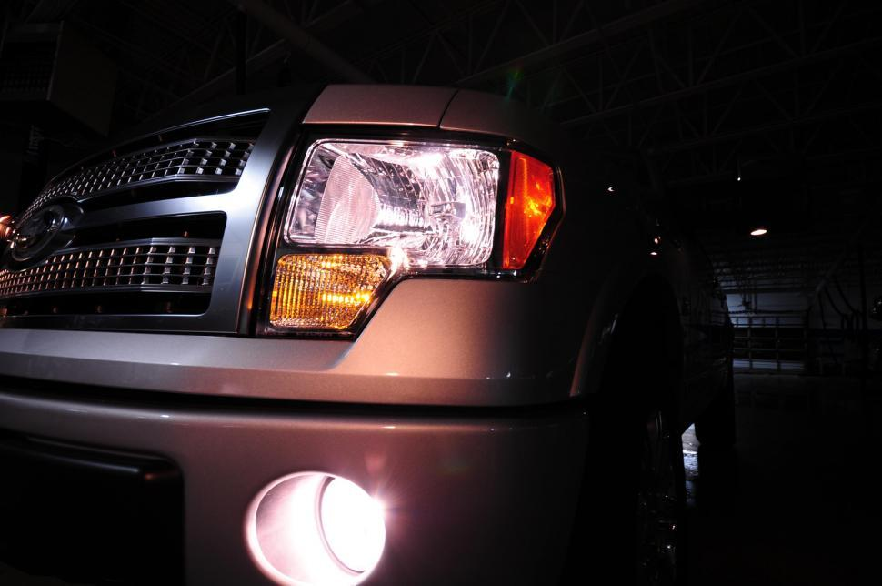 Download Free Stock HD Photo of SUV headlights Online