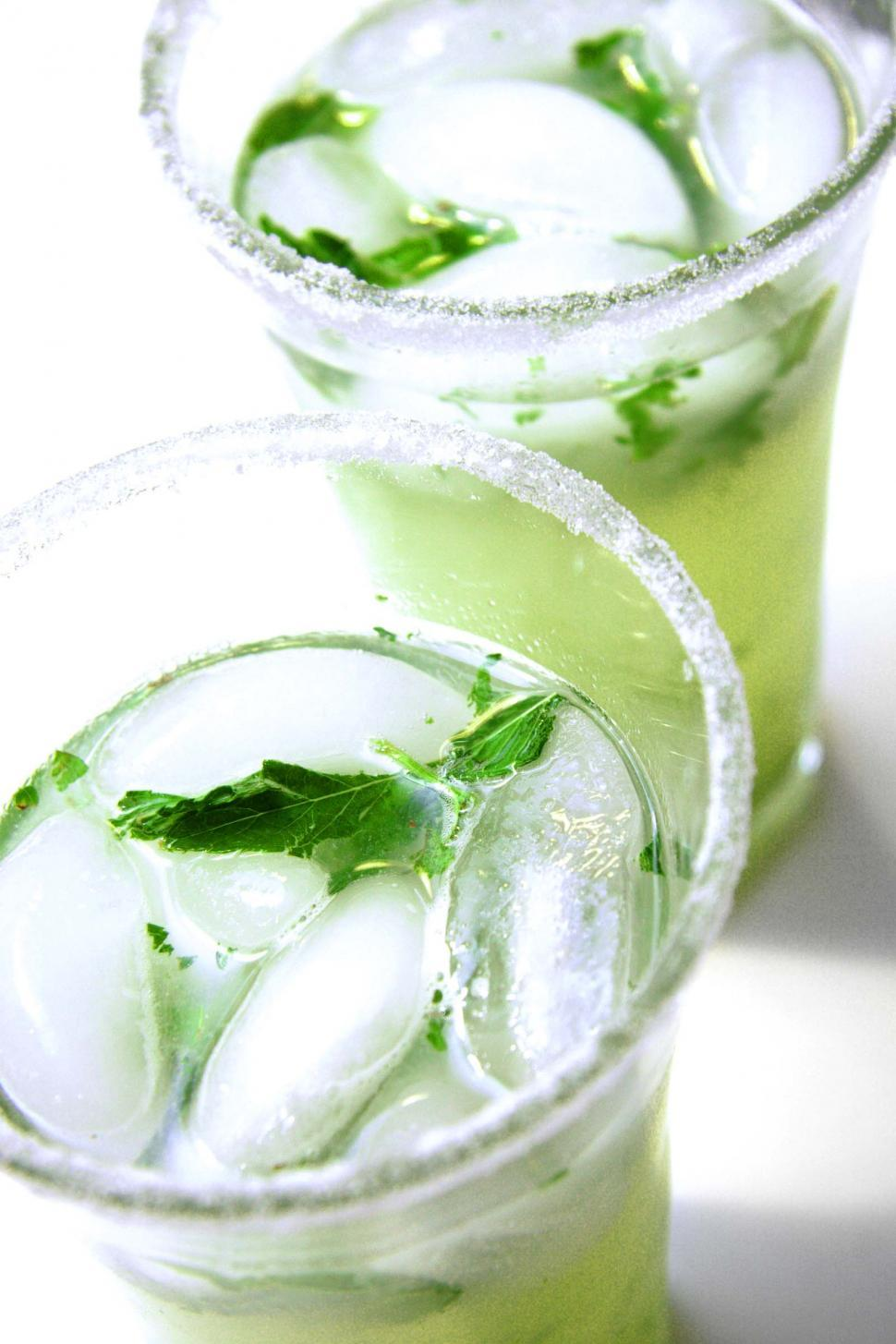 Download Free Stock HD Photo of Close up of mojitos Online