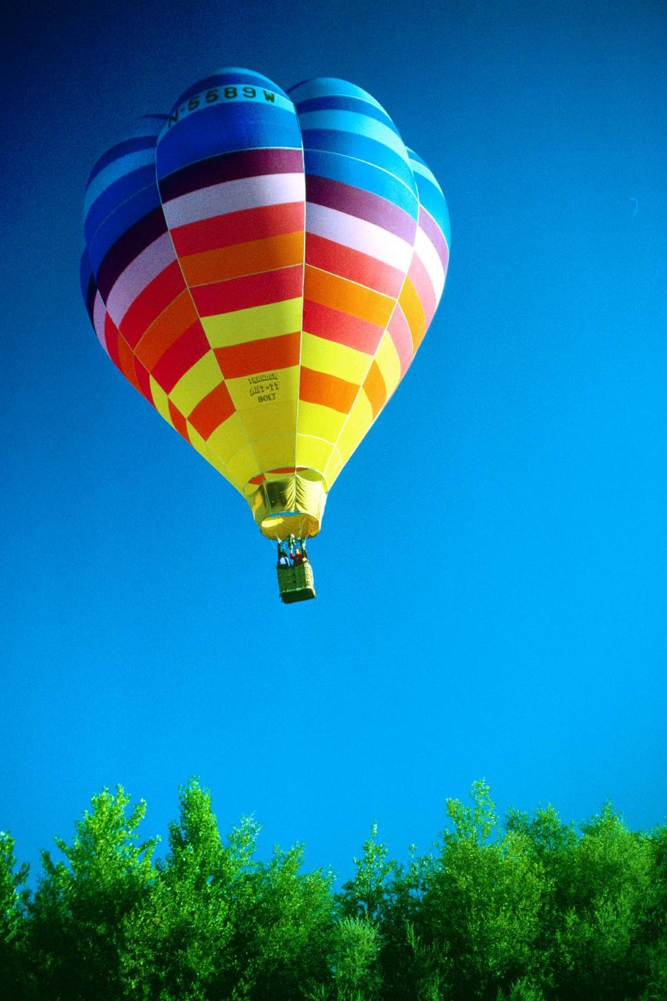 Download Free Stock HD Photo of Colorful hot air balloon  Online