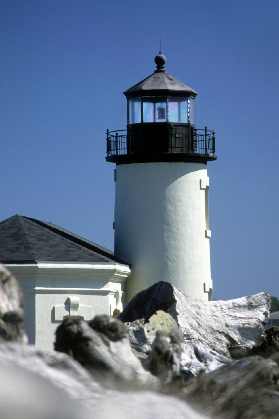 Download Free Stock HD Photo of White lighthouse Online