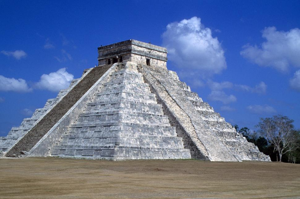 Download Free Stock HD Photo of Mayan temple Online