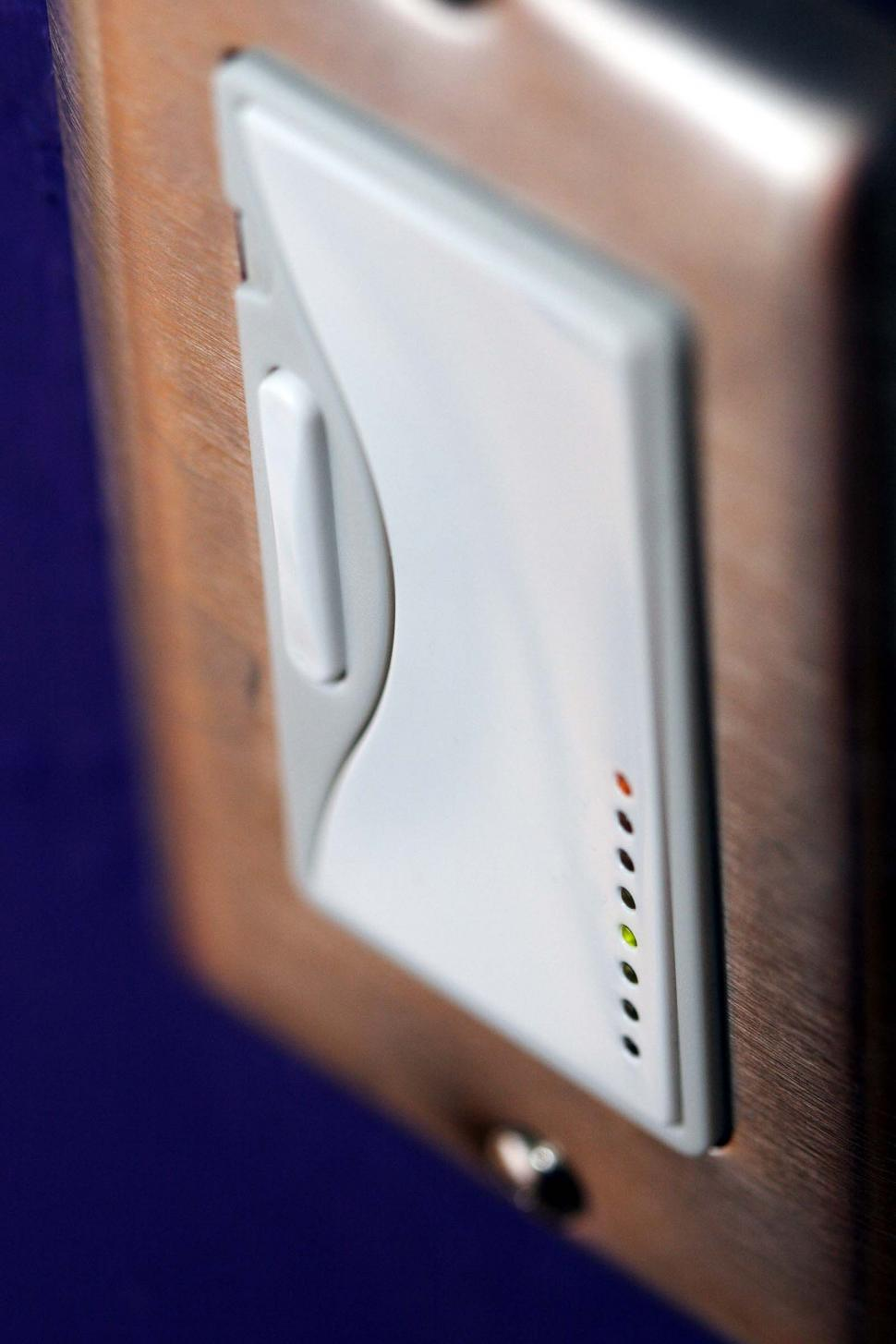 Download Free Stock HD Photo of Modern light switch Online