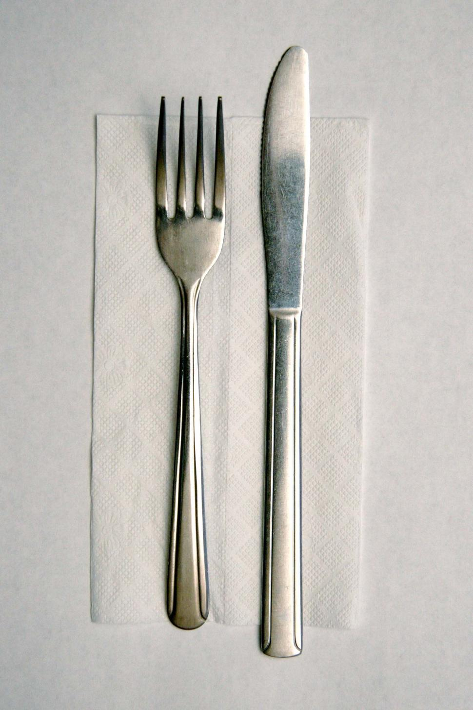 Download Free Stock HD Photo of Silverware setting Online