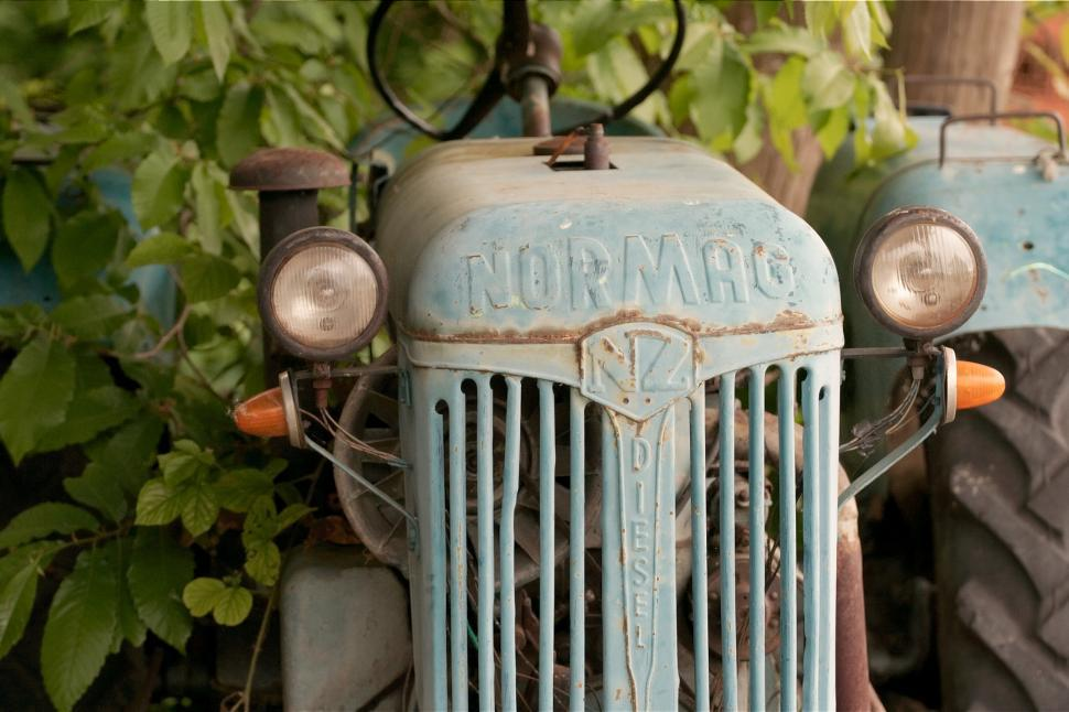 Download Free Stock HD Photo of Old tractor, Normag Online