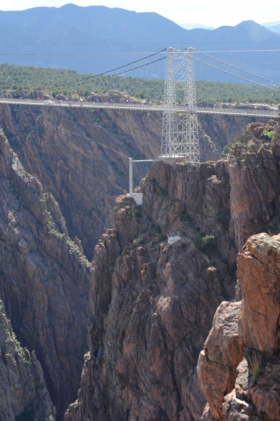 Download Free Stock HD Photo of Canyon bridge Online