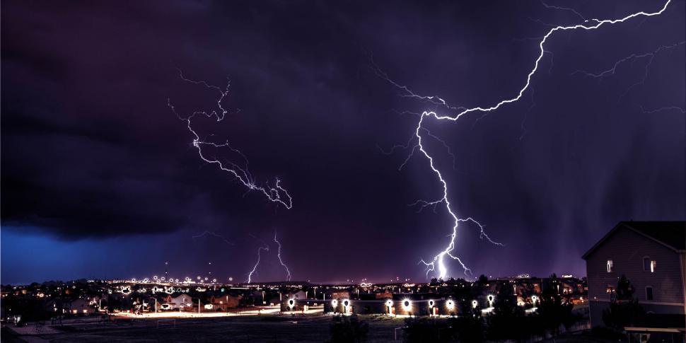 Download Free Stock HD Photo of Lightning strikes Online
