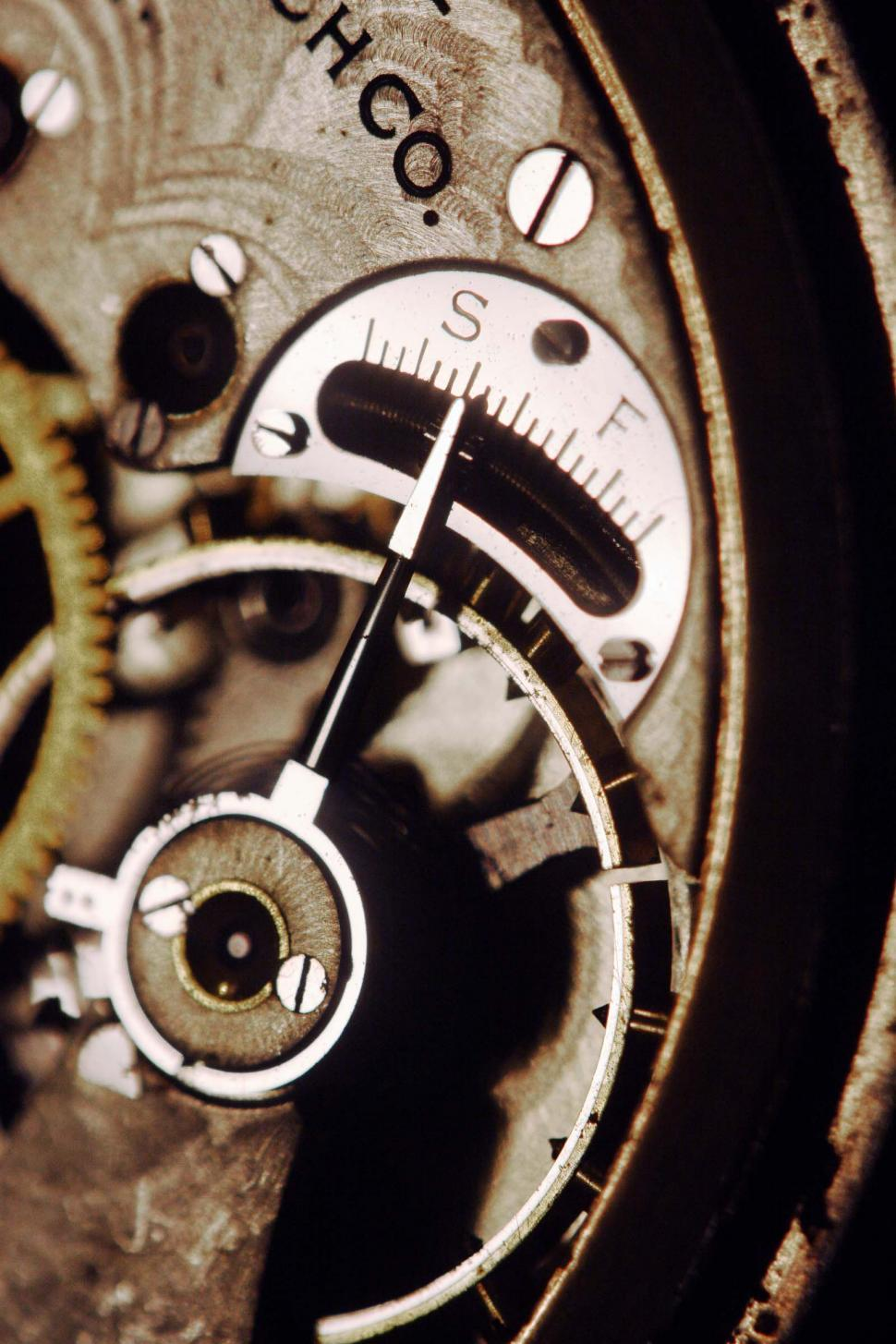 Download Free Stock HD Photo of Pocket watch inner workings Online