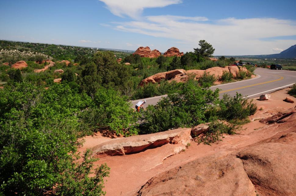 Download Free Stock HD Photo of Red rocks road Online