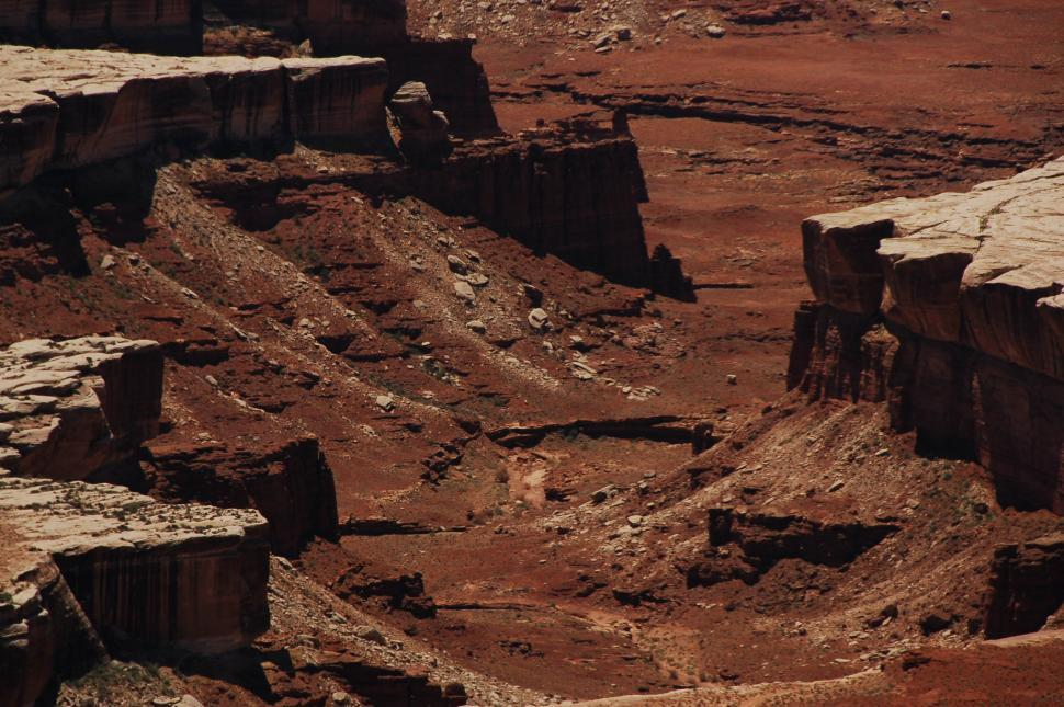 Download Free Stock HD Photo of Crumbling desert mesas Online