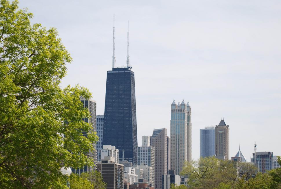 Download Free Stock HD Photo of City buildings - Chicago Online
