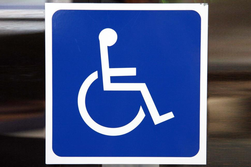 Download Free Stock HD Photo of Handicapped sign Online