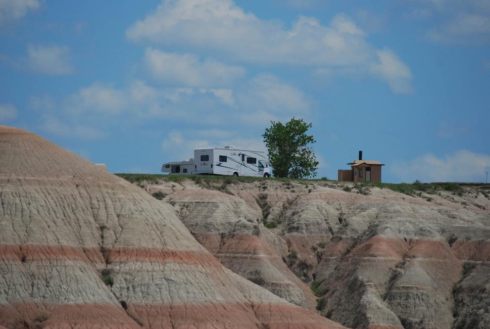 Download Free Stock HD Photo of RV parking Online