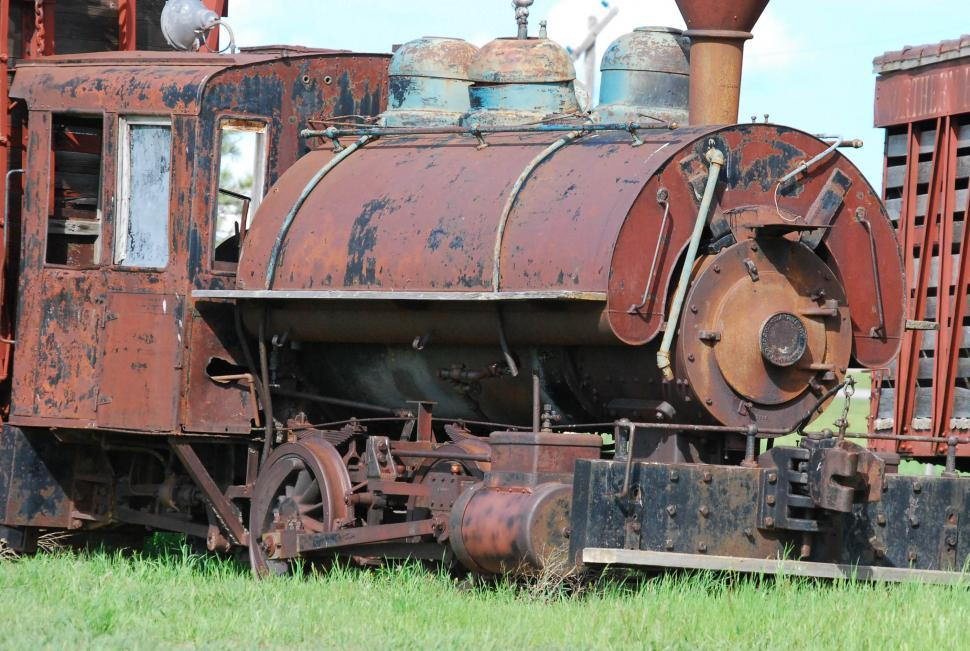 Download Free Stock HD Photo of Old rusted train Online