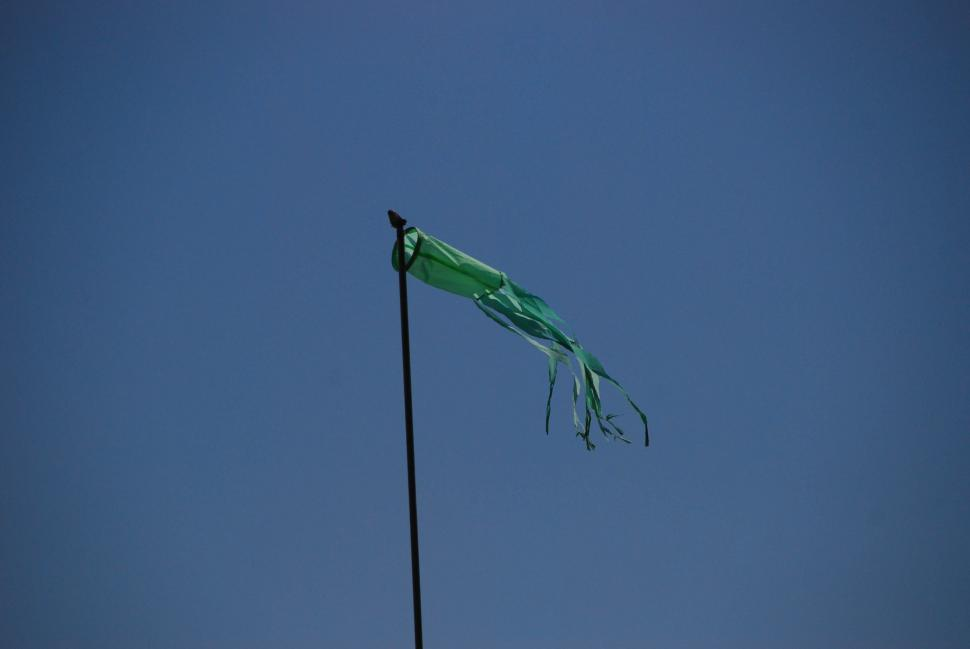 Download Free Stock HD Photo of Green wind sock Online