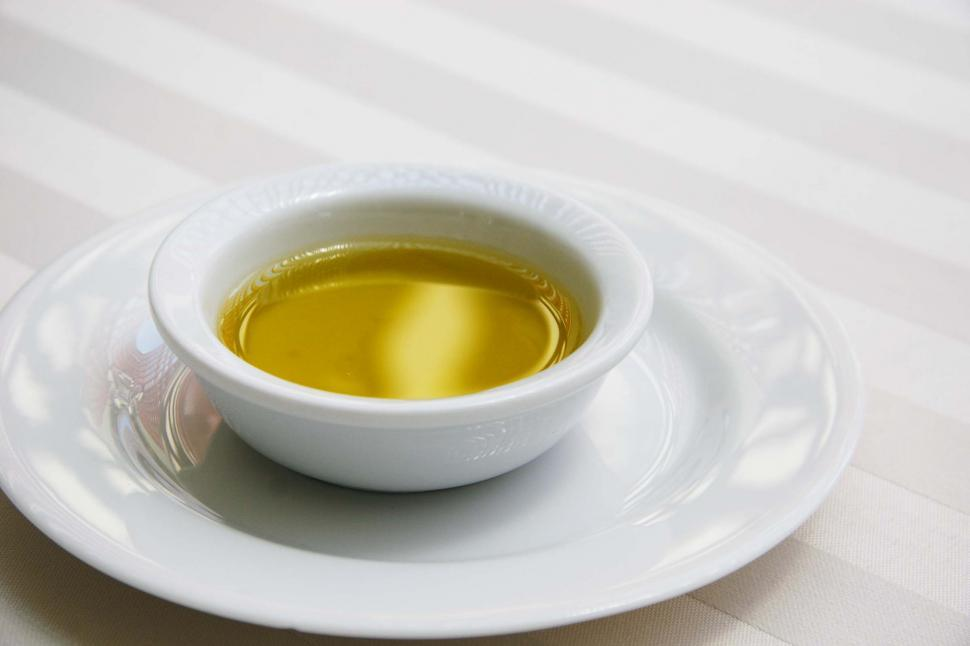 Download Free Stock HD Photo of Bowl of olive oil Online