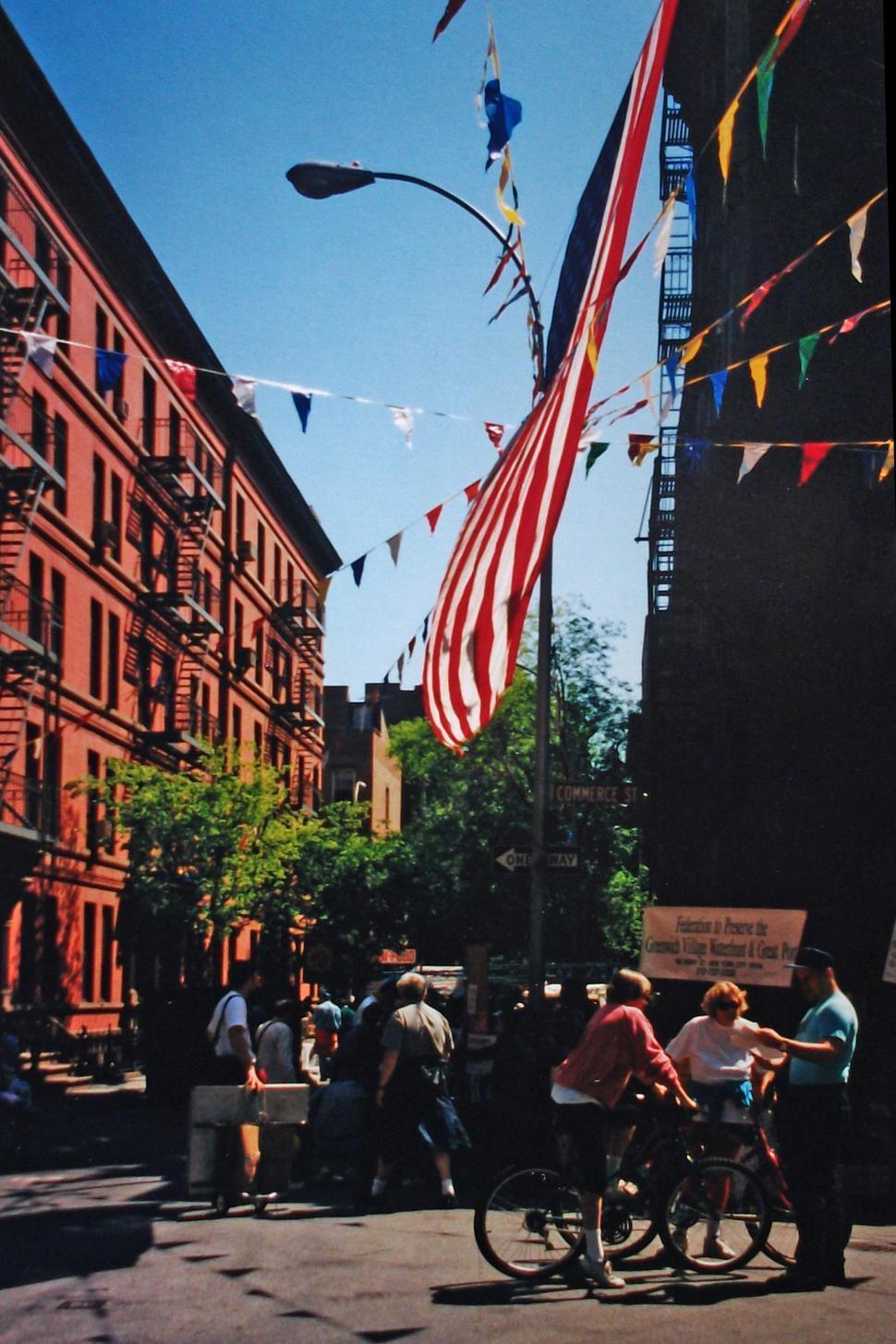 Download Free Stock HD Photo of Greenwich Village street scene Online