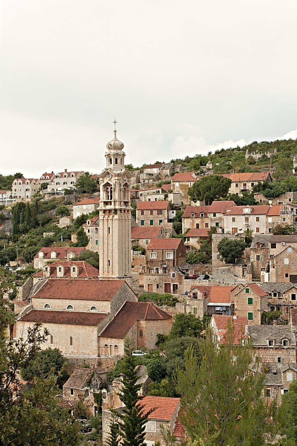 Download Free Stock HD Photo of Dalmatian town Online