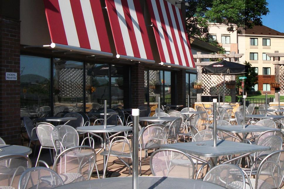Download Free Stock HD Photo of Restaurant patio Online