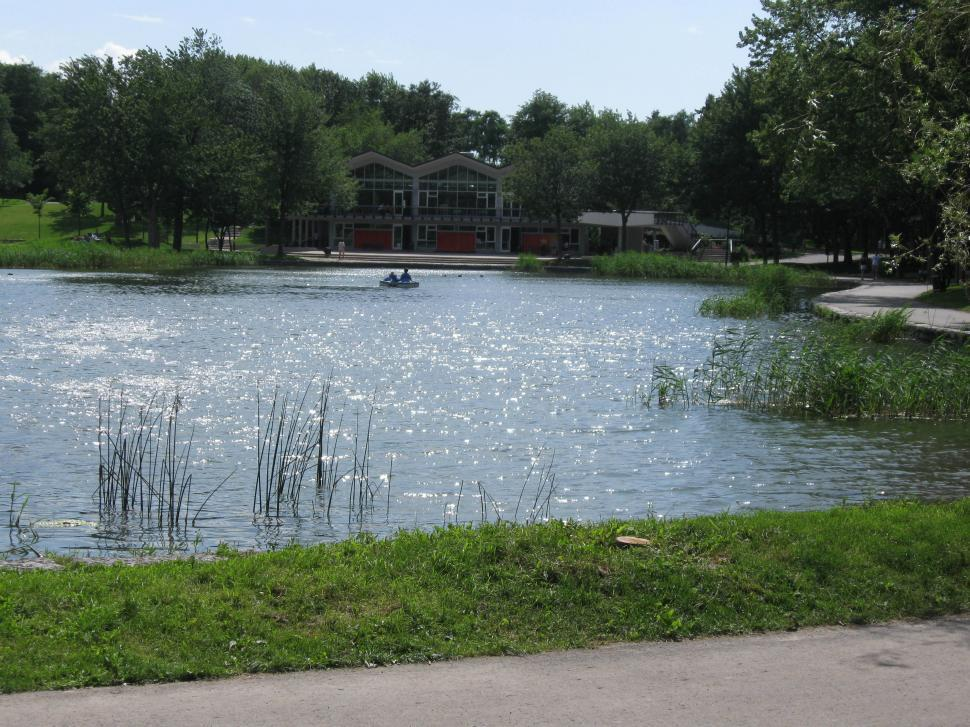 Download Free Stock HD Photo of Gentle Pond in the Summer Online