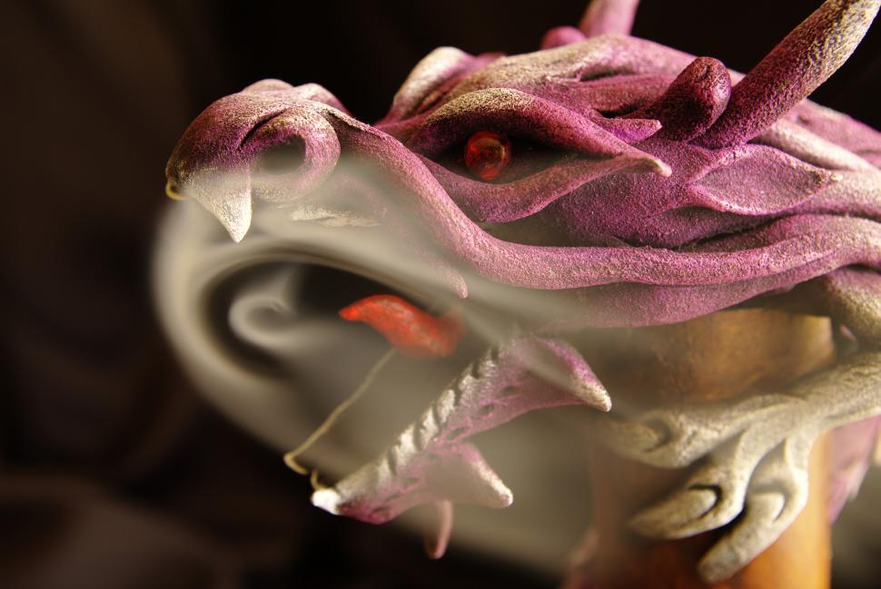 Download Free Stock HD Photo of Dragon insense Online