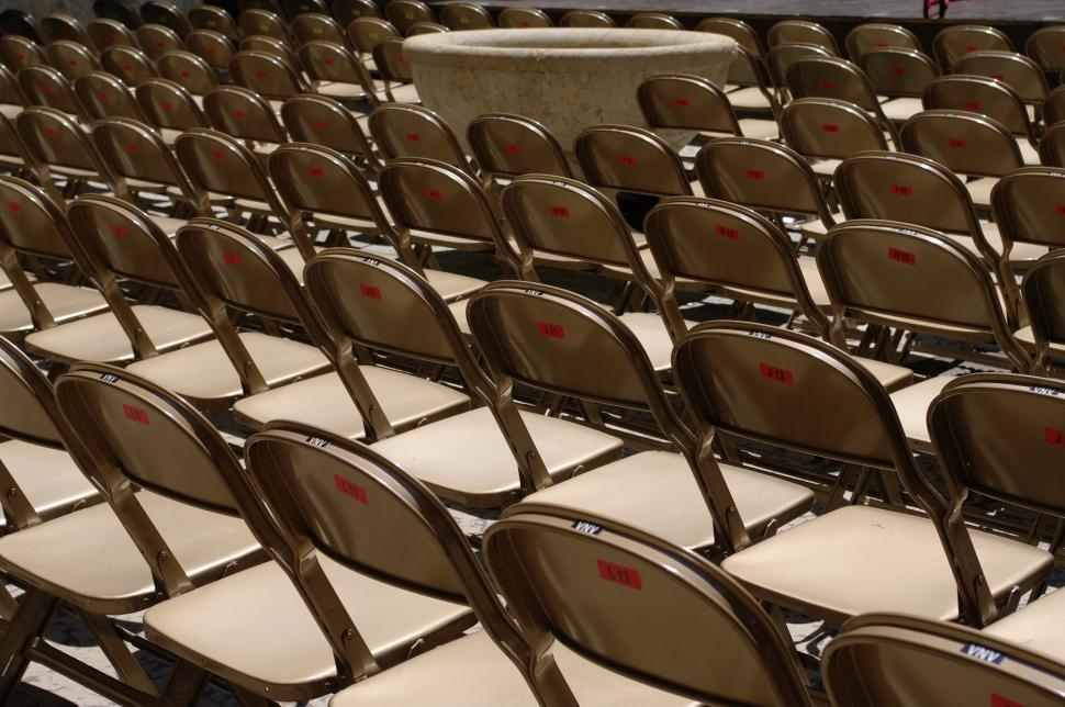 Download Free Stock HD Photo of range of chairs Online