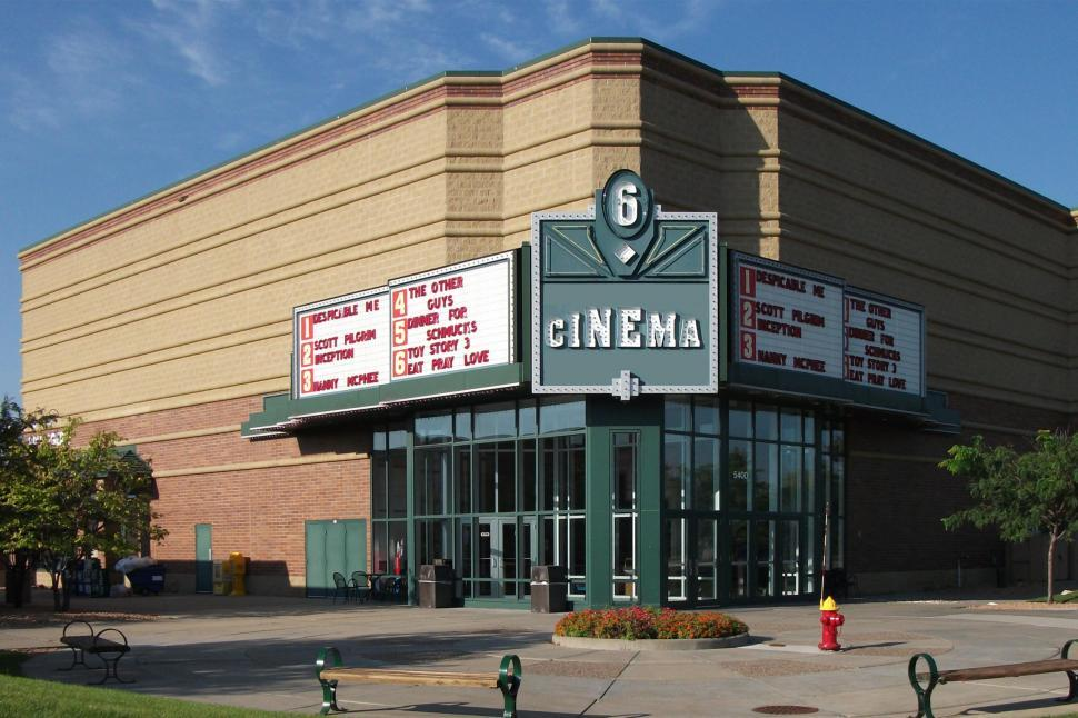 Download Free Stock HD Photo of Movie theater Online