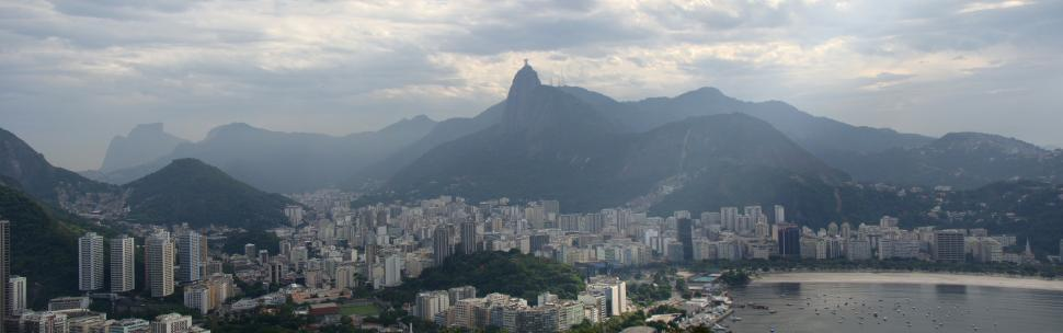 Download Free Stock HD Photo of Rio de Janeiro panorama Online
