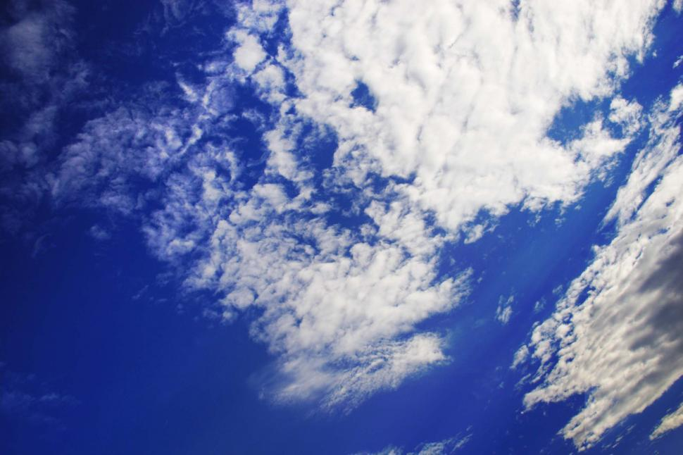 Download Free Stock HD Photo of Textured white clouds Online