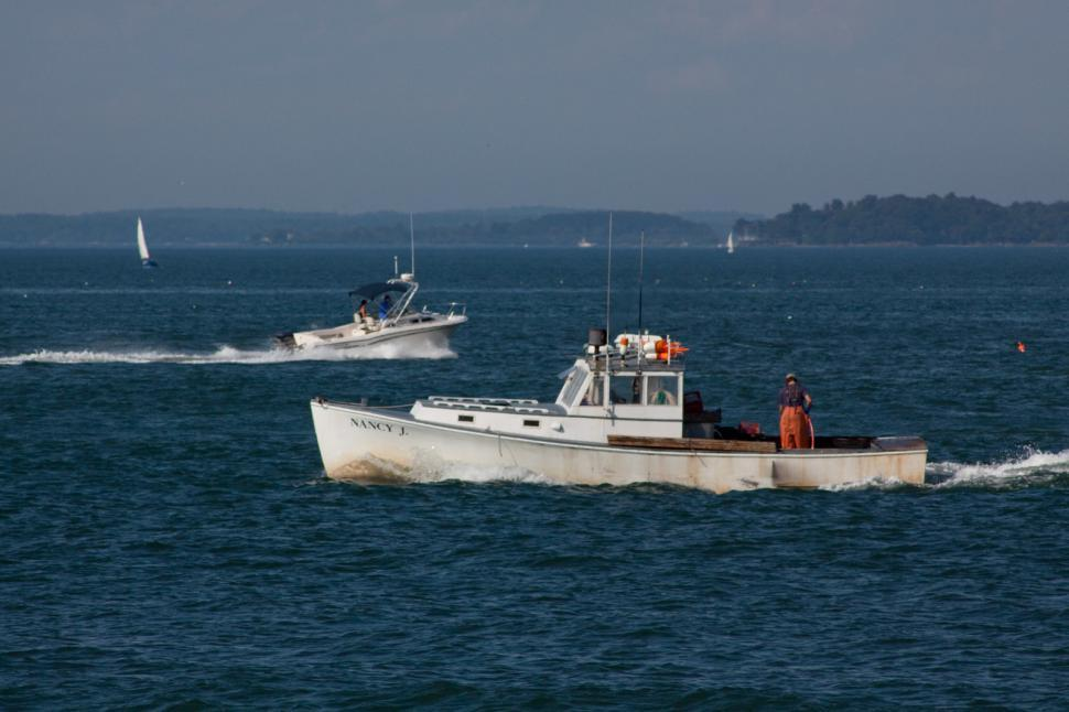 Download Free Stock HD Photo of Lobster Boat Online
