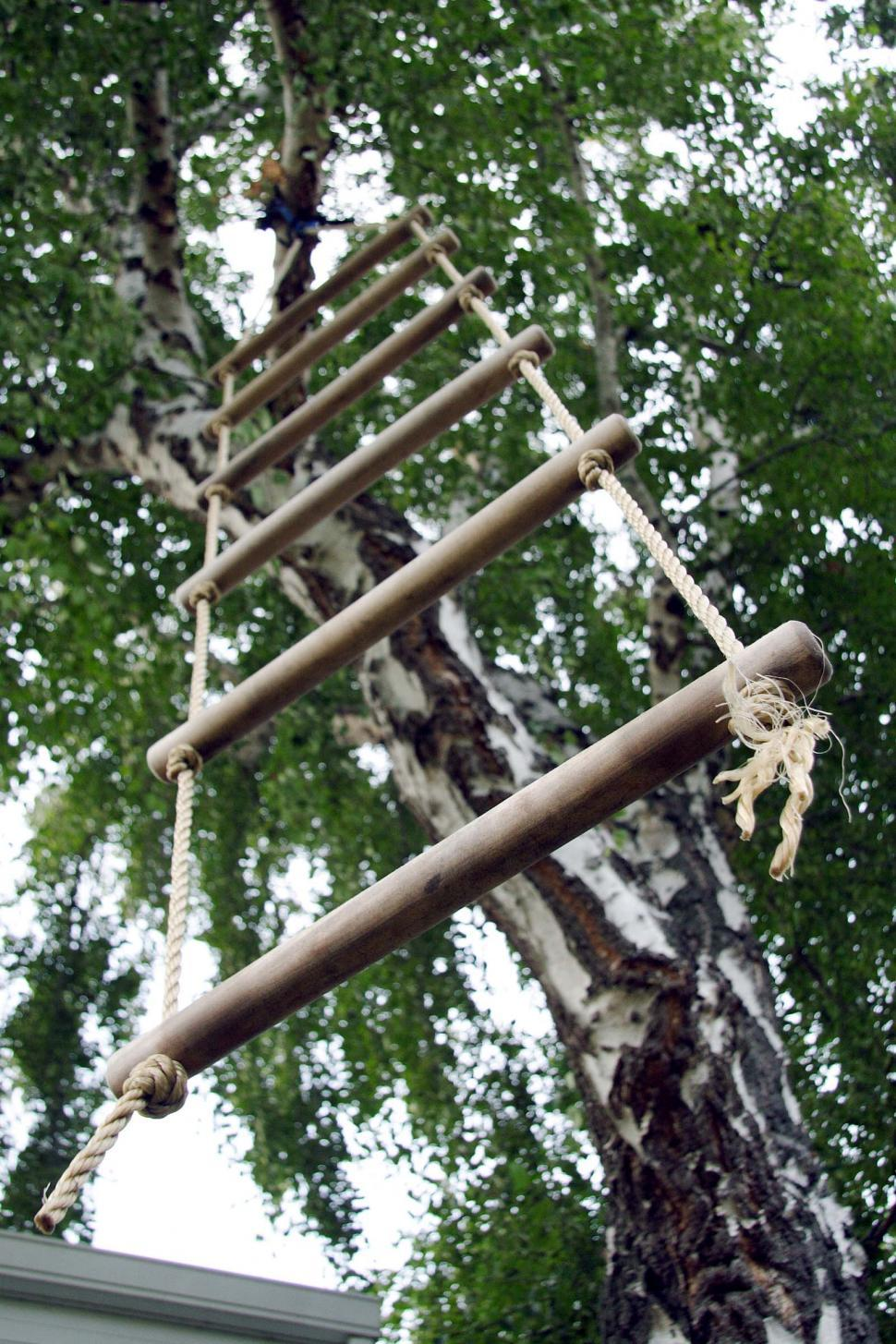 Download Free Stock HD Photo of Rope Ladder Online
