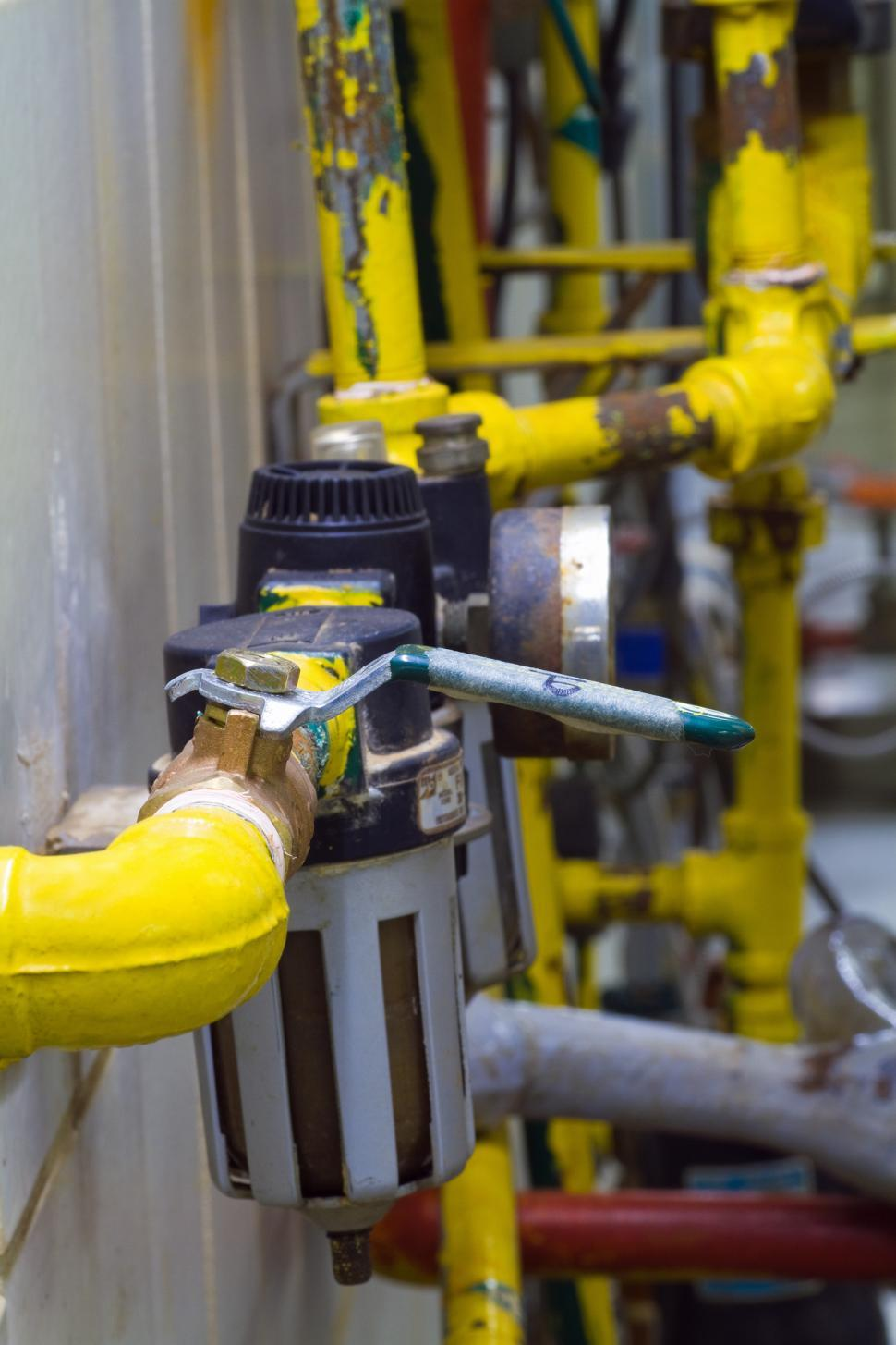 Download Free Stock HD Photo of Pipes and Valves Online