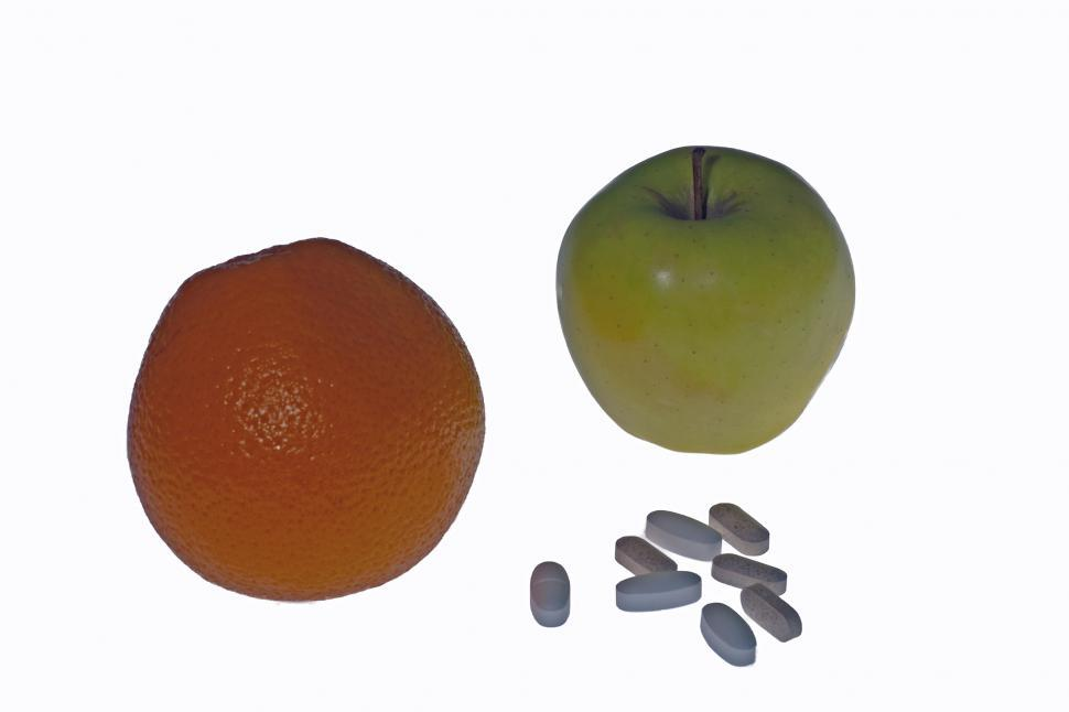 Download Free Stock HD Photo of Fruit or Pills Online