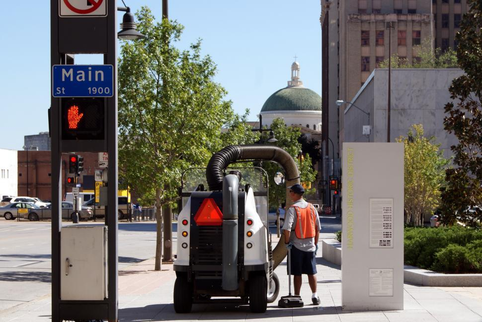 Download Free Stock HD Photo of Street Vacuum  Online
