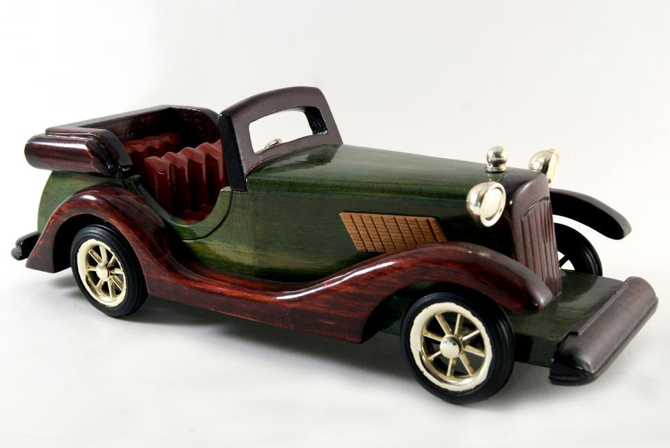Download Free Stock HD Photo of Model Wood Car Online