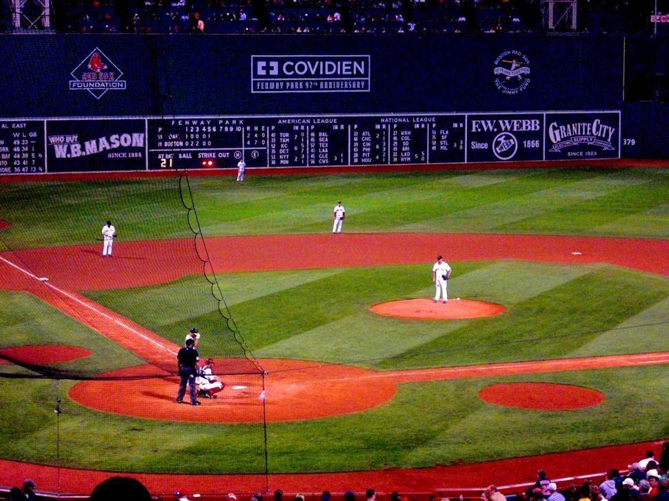 Download Free Stock HD Photo of Fenway - Baseball Online