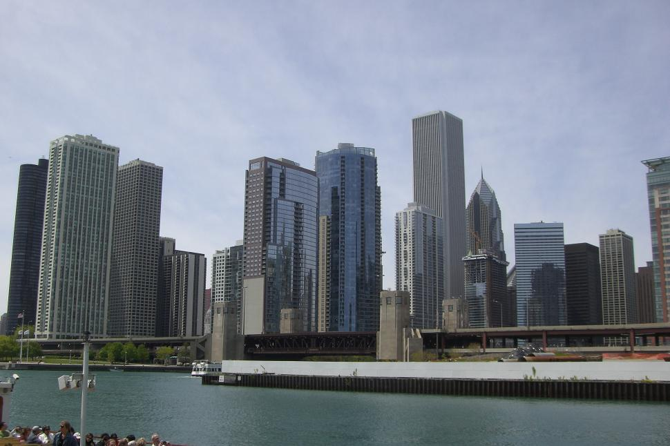 Download Free Stock HD Photo of Chicago Skyline Online