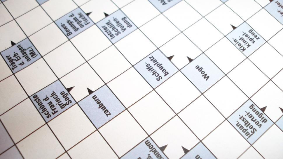 Download Free Stock HD Photo of Crosswords Online
