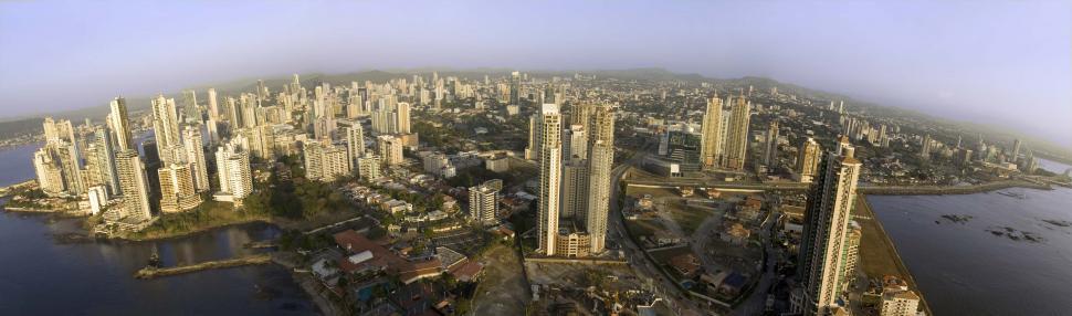 Download Free Stock HD Photo of Panama City Panorama Online